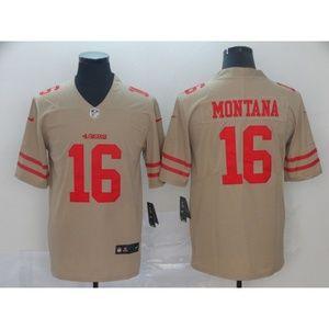 San Francisco 49ers Joe Montana Jersey
